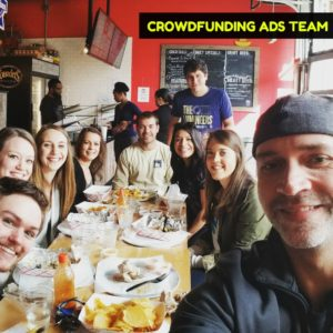 Crowdfunding Facebook Ads Team