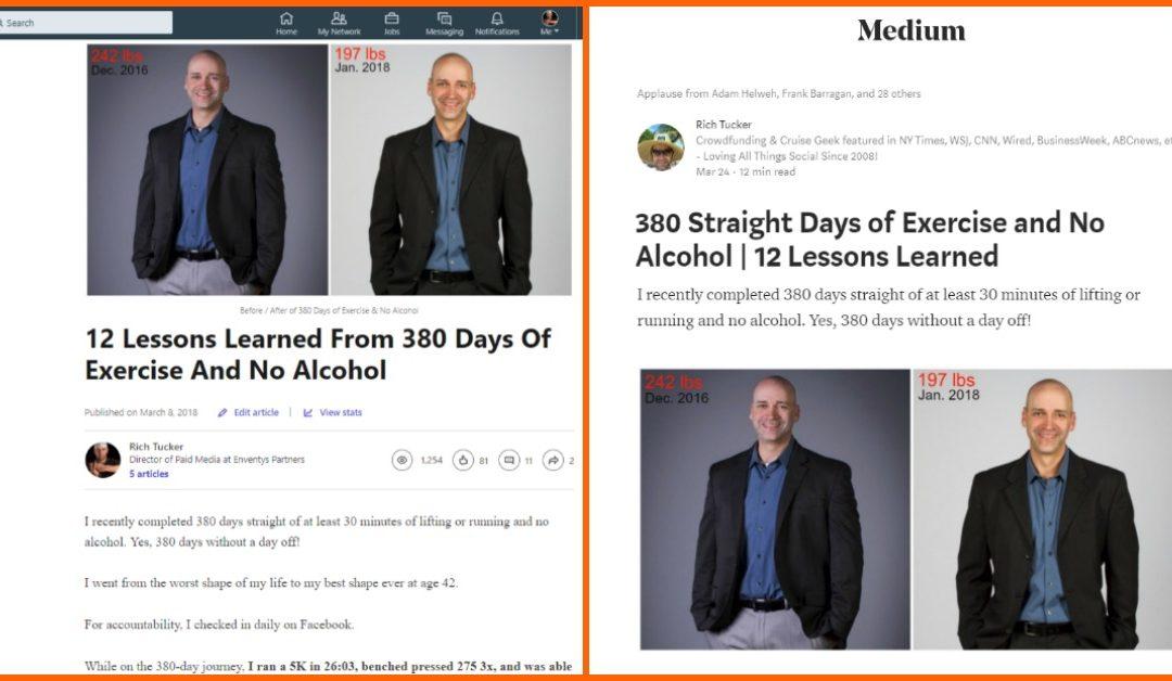 Blogging Test: Publishing On Linkedin vs. Medium vs. Personal Blog