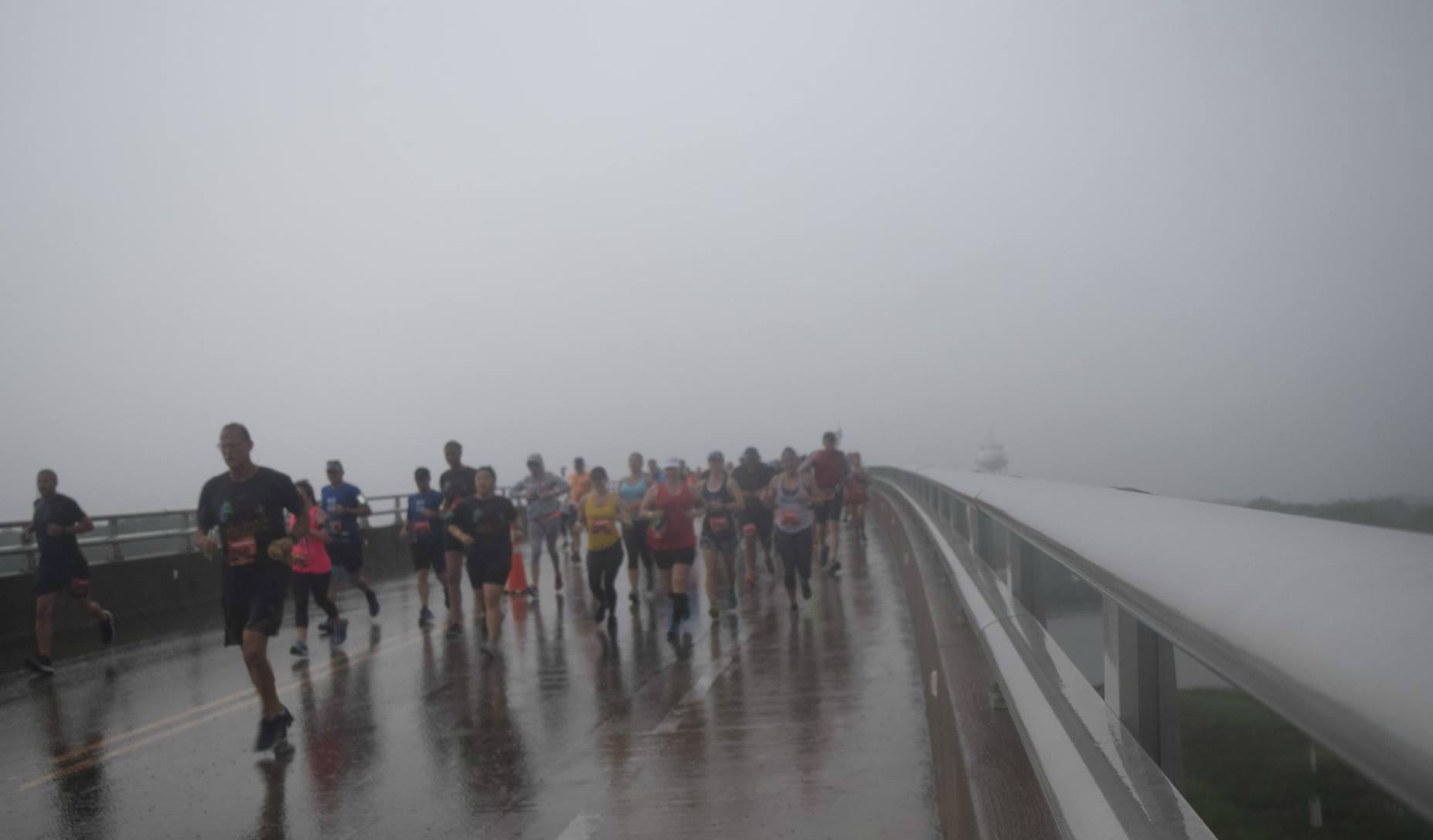 Rainy Day Sunset Half Marathon