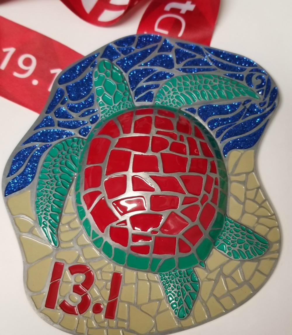 Sunset Beach Half Marathon Medal