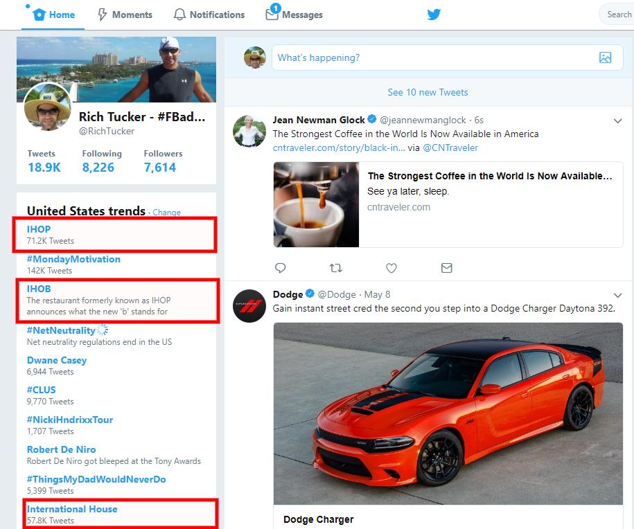 #ihob trending on Twitter